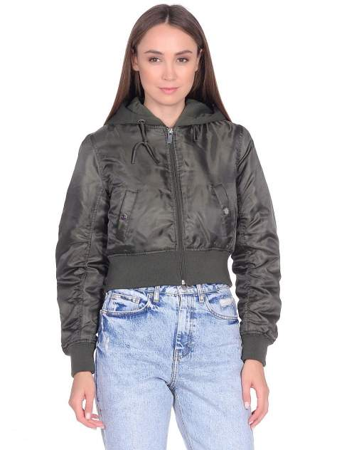 Куртка Modis M202W00355, зеленый