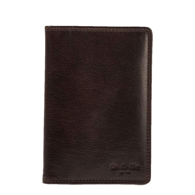 Обложка для паспорта Dr.Koffer X510427-245 коричневая