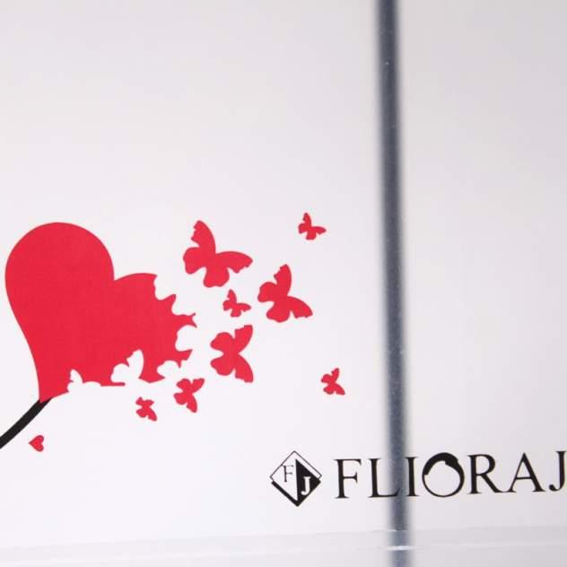 Зонт-трость женский механический Flioraj 121218 FJ белый