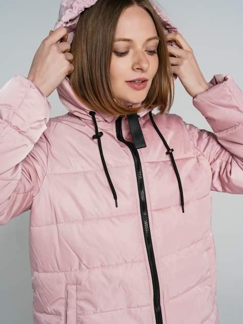 Пуховик-пальто женский ТВОЕ A6559 розовый XL