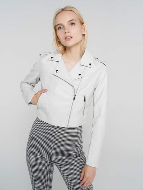 Кожаная куртка женская ТВОЕ A6590 бежевая XL