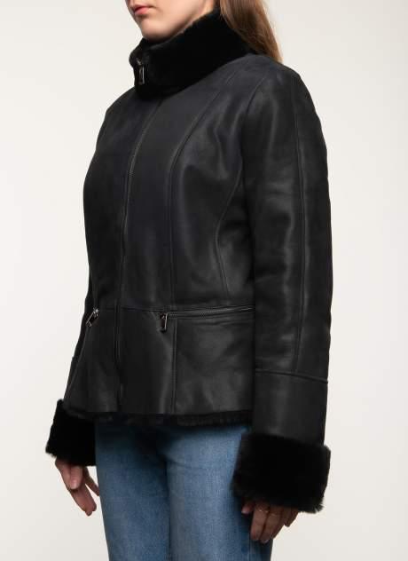 Дубленка женская Каляев 1484699 черная 44 RU