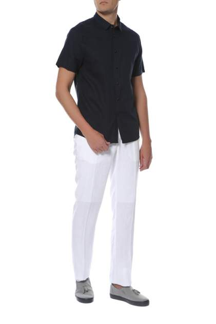 Рубашка мужская CUDGI STU 1811 синяя 56 IT
