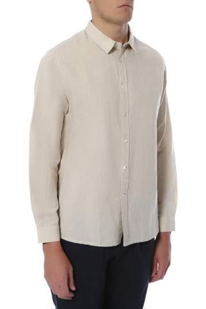 Рубашка мужская CUDGI STU 1813 бежевая 56 IT