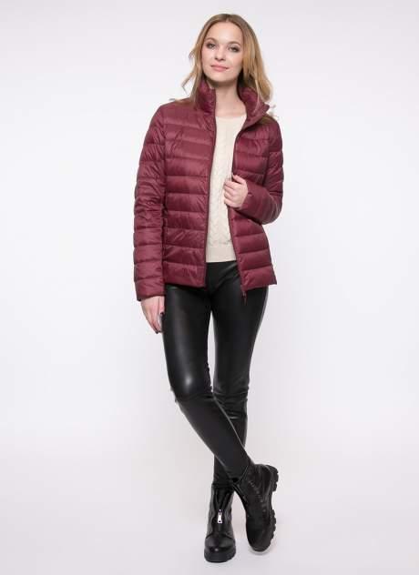 Куртка женская Каляев 1520313 бордовая 48-50 RU