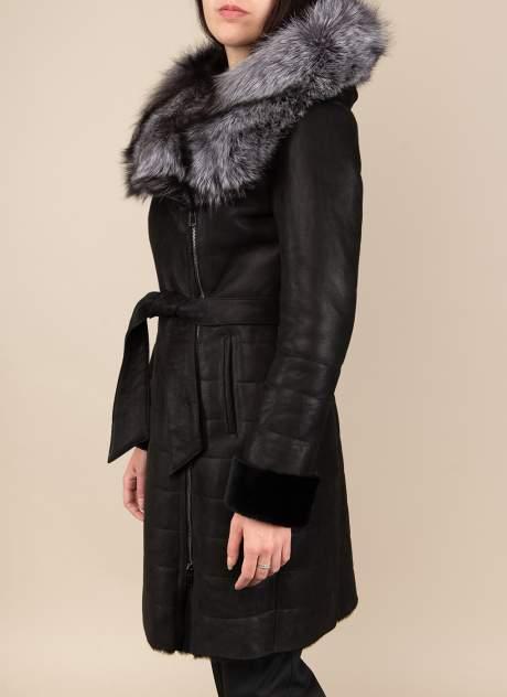 Дубленка женская Каляев 1523013 черная 52 RU