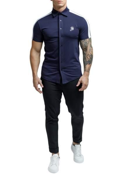 Рубашка мужская Sarman SC32 синяя M