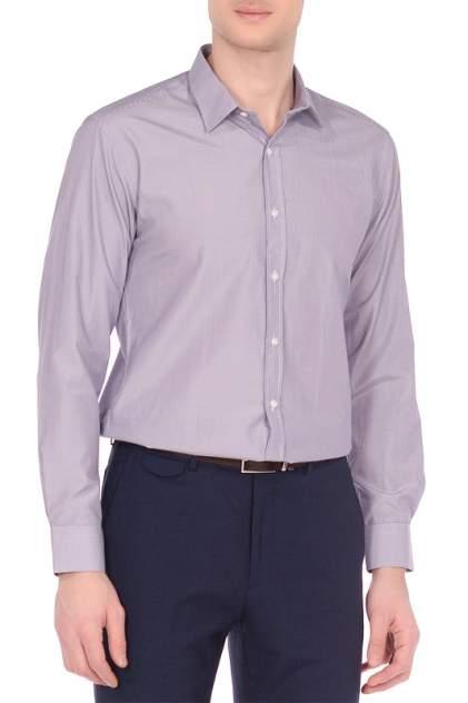 Рубашка мужская KarFlorens 70121-04 фиолетовая XL