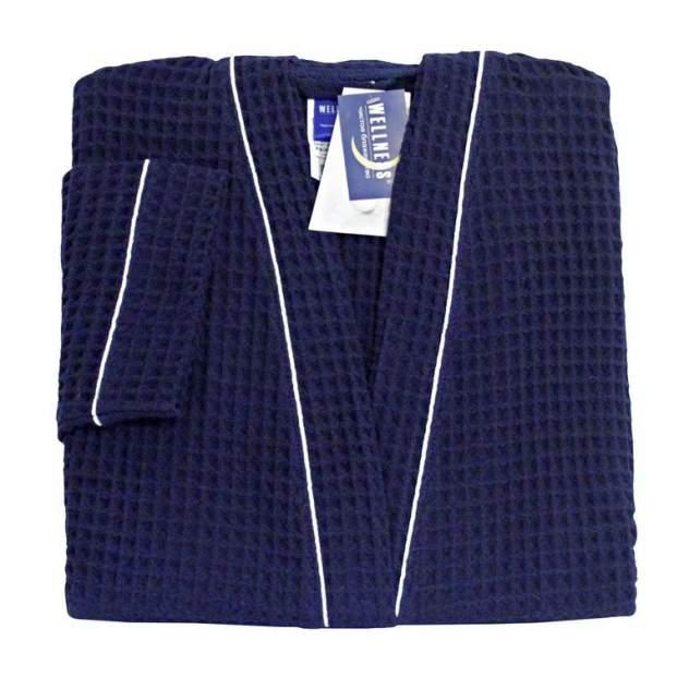 Домашний халат мужской Wellness Атлант синий 48-50