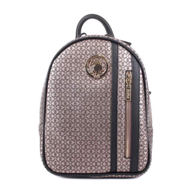 Рюкзак женский Us Polo Assn. V0964 коричневый