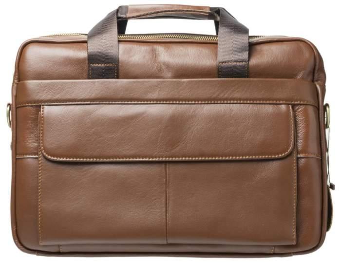 Портфель мужской Gsmin GL20 светло-коричневый