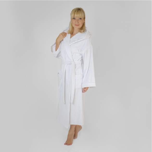 Домашний халат женский Wellness Релакс, белый