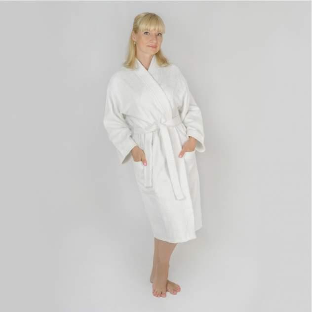 Домашний халат женский Wellness Алина, белый
