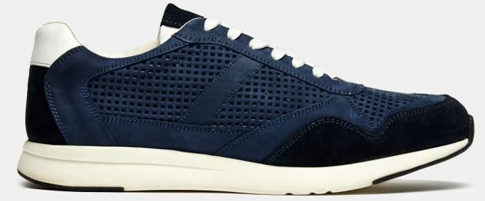Низкие кроссовки мужские Ralf Ringer ОТ00036500 синие 46 RU