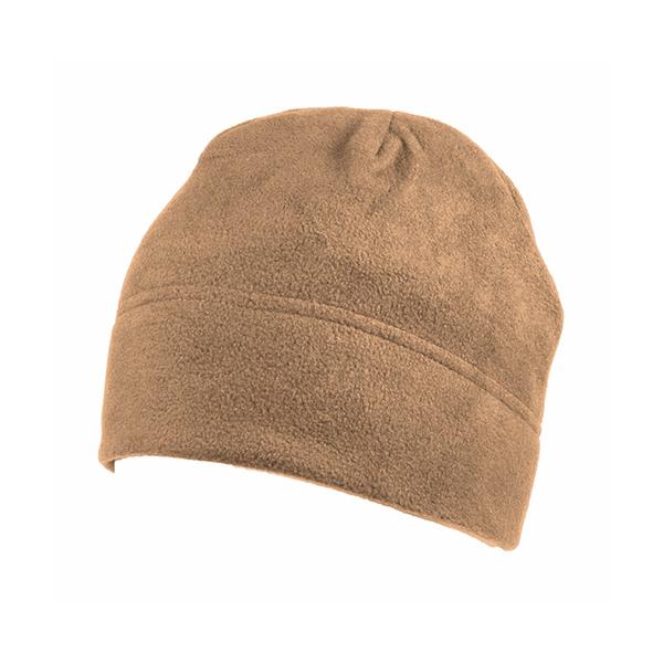 Шапка мужская флисовая Kamukamu 694193 коричневая