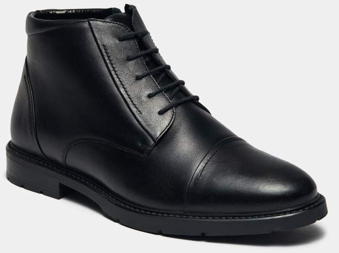 Ботинки мужские Ralf Ringer 548314 черные 42 RU