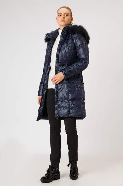 Пуховик-пальто женский Finn Flare A18-12026 синий S