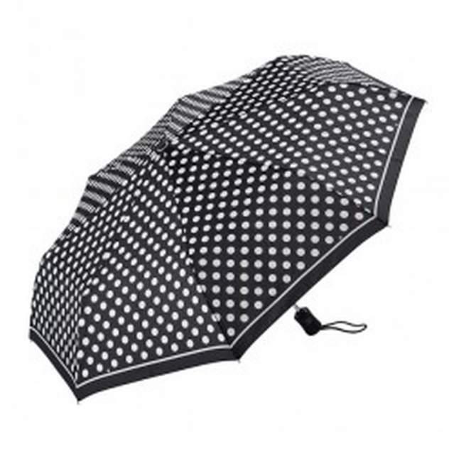 Зонт складной женский автоматический Dr.Koffer E411 1s2200 черный
