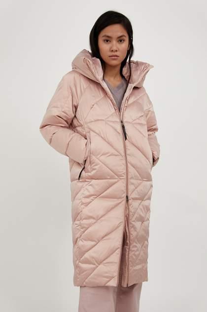 Пуховик-пальто женский Finn Flare A20-11022 коричневый 2XL