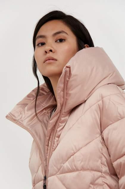 Пуховик-пальто женский Finn Flare A20-11022 коричневый 3XL