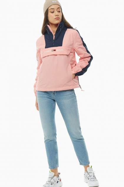 Ветровка женская Tommy Jeans DW0DW07589 TE6 розовая S