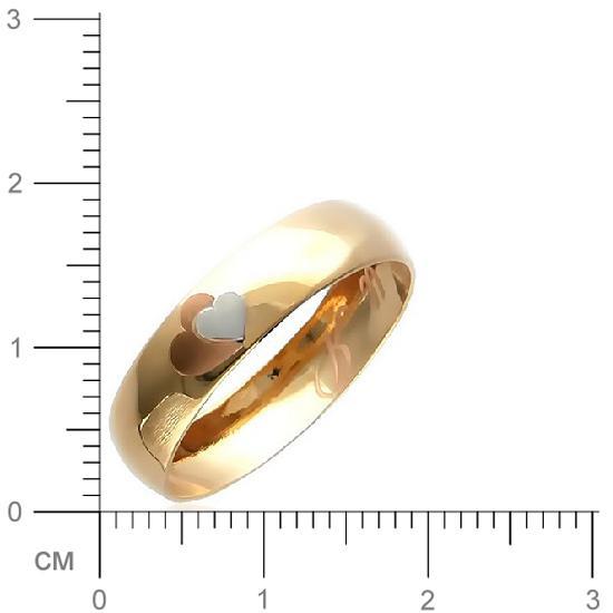 Кольцо женское Эстет 01О010166 р.23