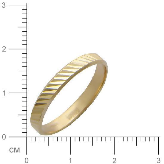 Кольцо женское Эстет 01О710027 р.21.5