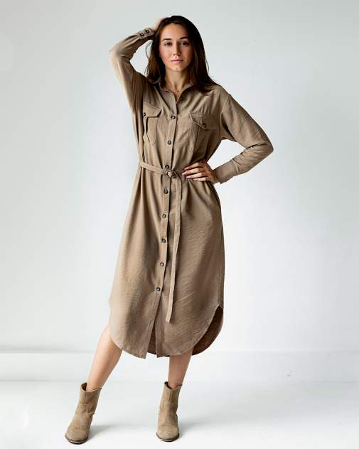 Женское платье Poli-Dress Мили, бежевый