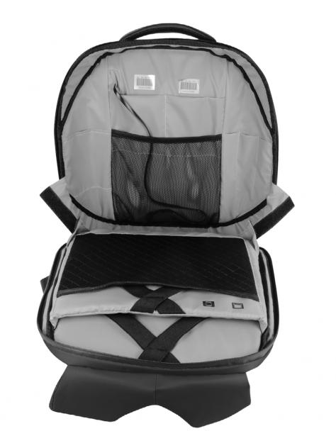 Рюкзак с экраном SMARTIX LED 4S PLUS черный (Power Bank в комплекте)