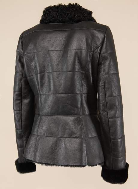 Дубленка женская Каляев 1562049 черная 46 RU