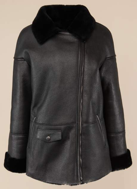 Дубленка женская Каляев 1562389, цвет черный