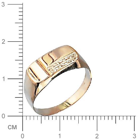 Кольцо мужское Эстет 01Т712119 р.20.5
