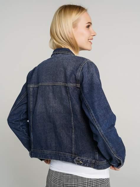 Джинсовая куртка женская ТВОЕ A6594 синяя XS