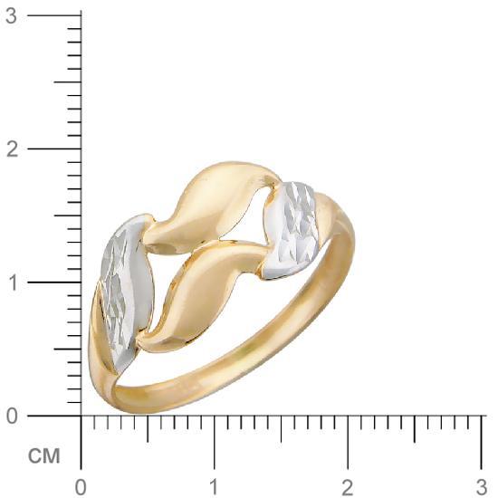 Кольцо женское Эстет 01К714595 р.19