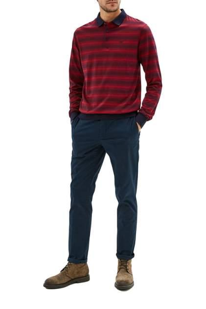 Рубашка мужская La Biali L9683-1/219-10 (БОРДОВая) красная 4XL