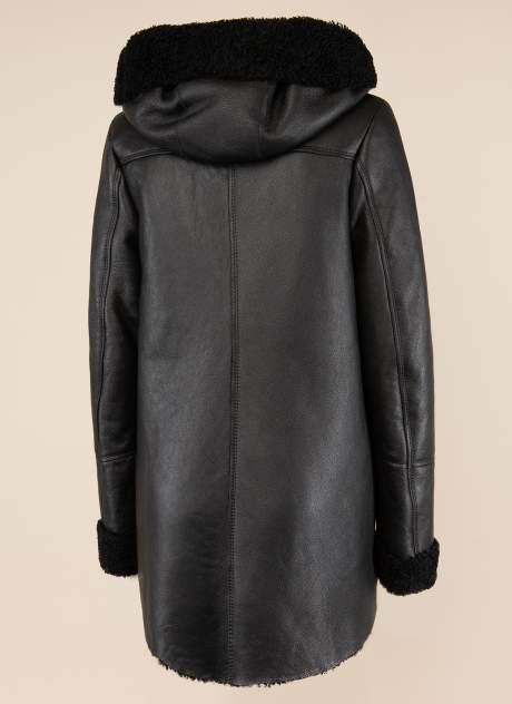 Дубленка женская Каляев 1572684 черная 44 RU