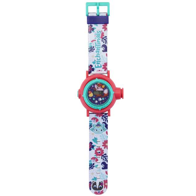 Часы с проектором Enchantimals Fresh Trend