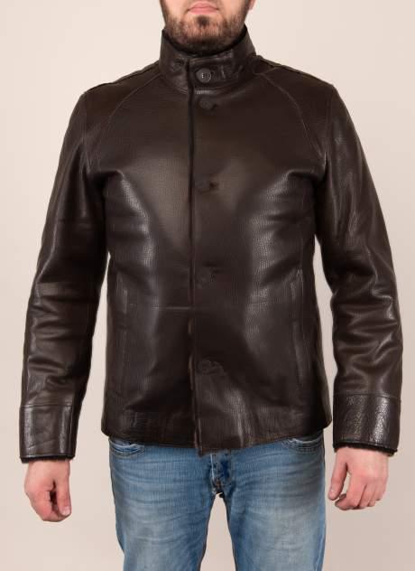 Дубленка мужская Каляев 1573012 коричневая 64 RU