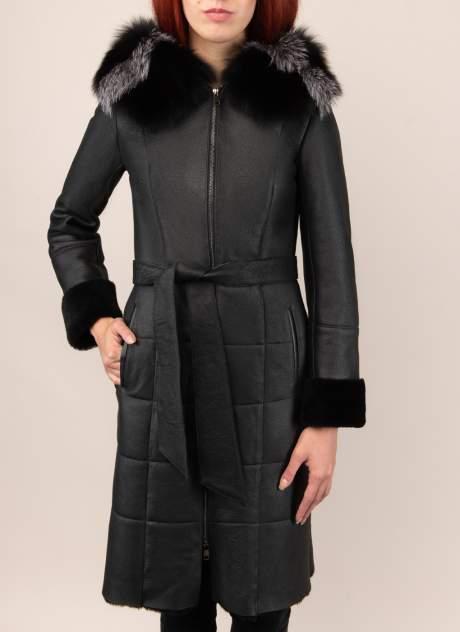 Дубленка женская Каляев 1573200, цвет черный