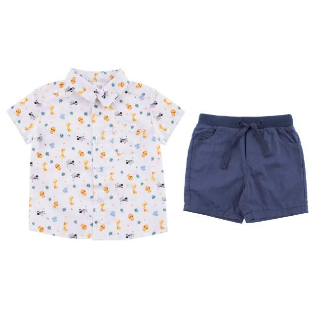 Комплект одежды Fun Time, цв. белый