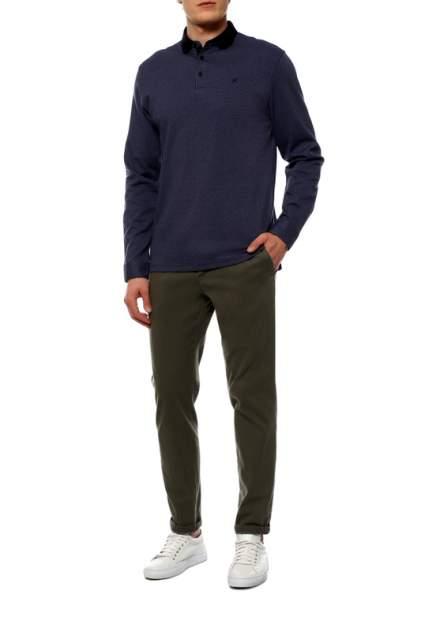 Рубашка мужская La Biali L936/218-6 (СЕРО-синяя) серая 2XL