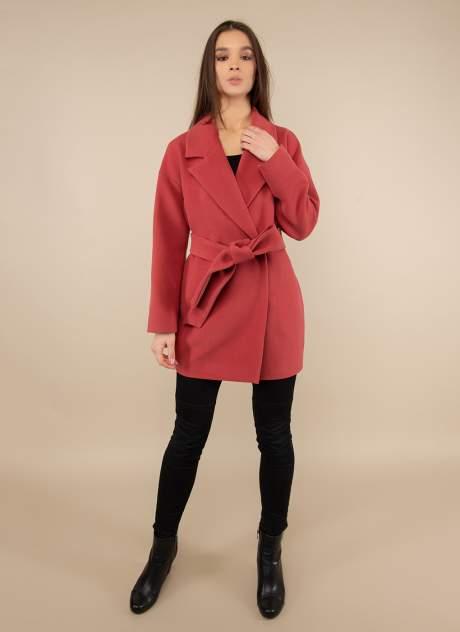 Пальто женское Каляев 1488191 розовое 48 RU