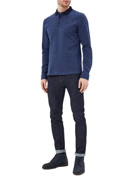Рубашка мужская La Biali L934/218-6 (СЕРО-синяя) серая 3XL