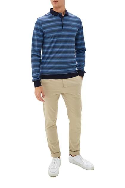 Рубашка мужская La Biali L9683-1/219-6 синяя 3XL