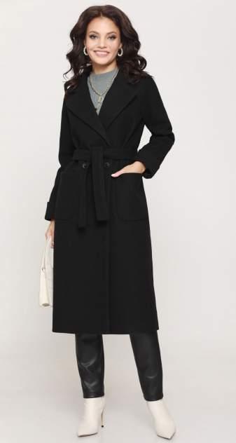 Женское пальто Миллена Шарм Планы на осень, черный