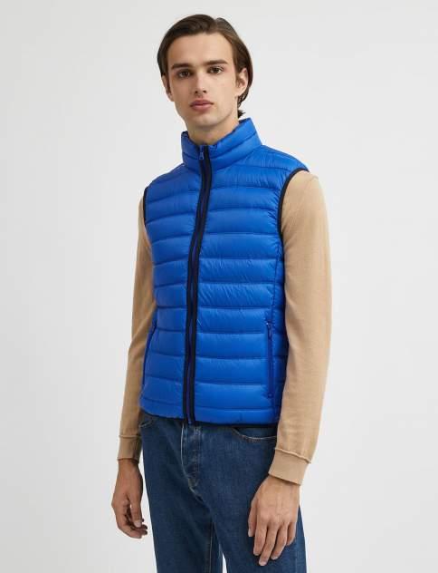 Жилет мужской утепленный United Colors of Benetton 21A_2BA25G1W8, синий