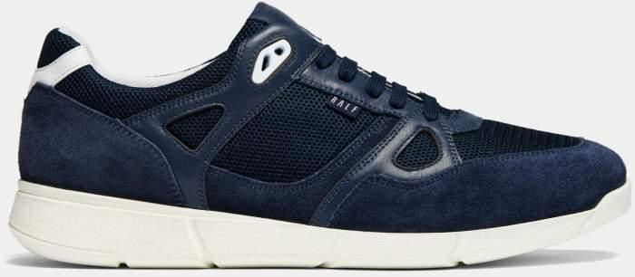 Низкие кроссовки мужские Ralf Ringer 112106 синие 43 RU
