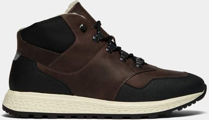 Высокие кроссовки мужские Ralf Ringer 138204 коричневые 46 RU