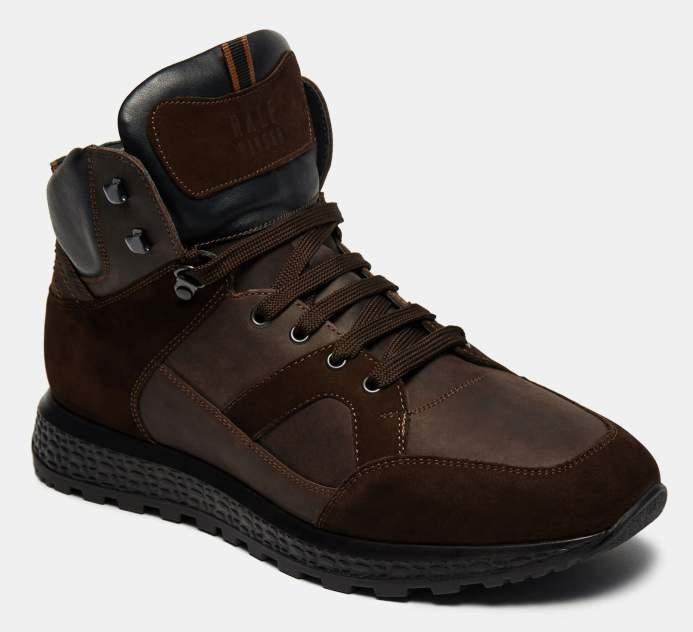 Высокие кроссовки мужские Ralf Ringer 138302_1 коричневые 46 RU