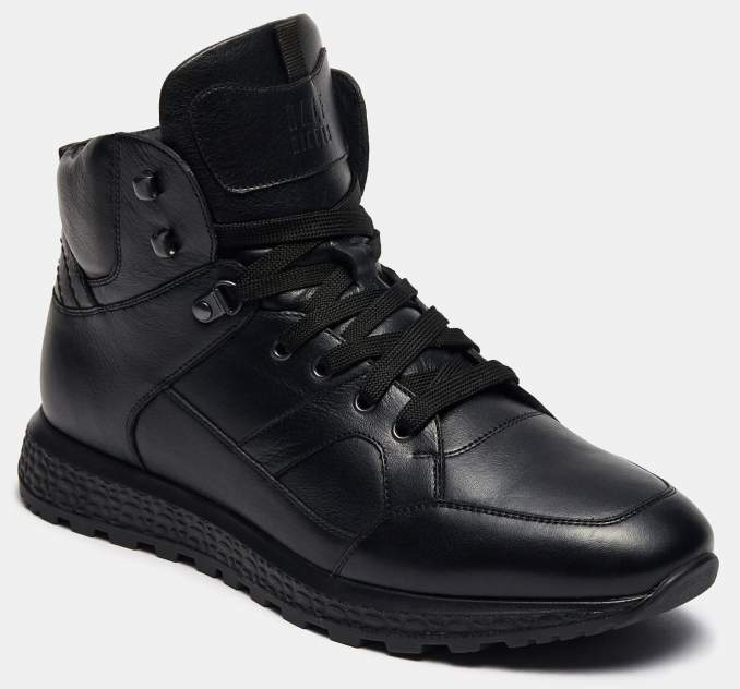 Высокие кроссовки мужские Ralf Ringer 138302_2 черные 46 RU
